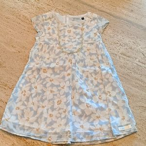 EUC European Jean Bourget floral dress girls